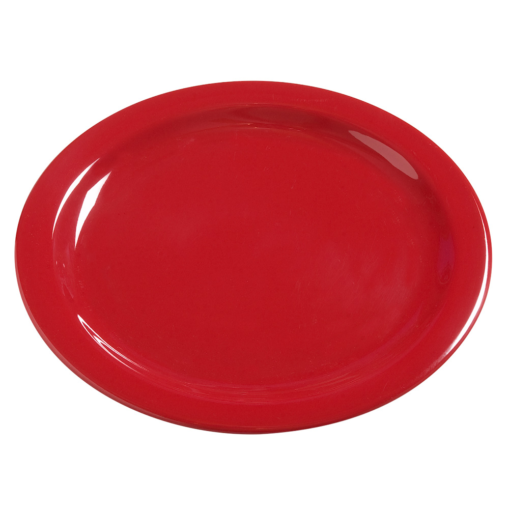 "Carlisle 4385005 10-1/4"" Dayton Dinner Plate - Red"