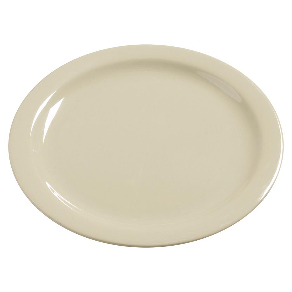 "Carlisle 4385006 10-1/4"" Dayton Dinner Plate - Oatmeal"