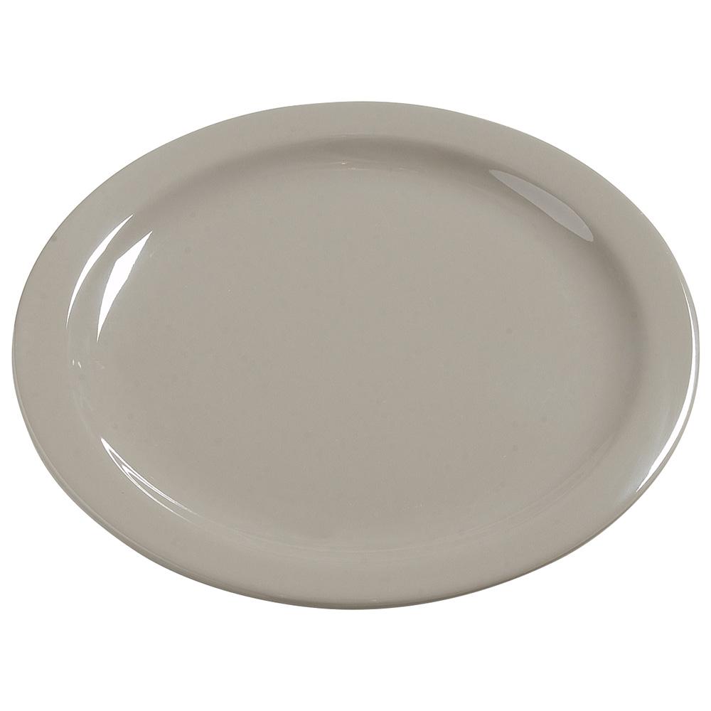 "Carlisle 4385031 10-1/4"" Dayton Dinner Plate - Truffle"