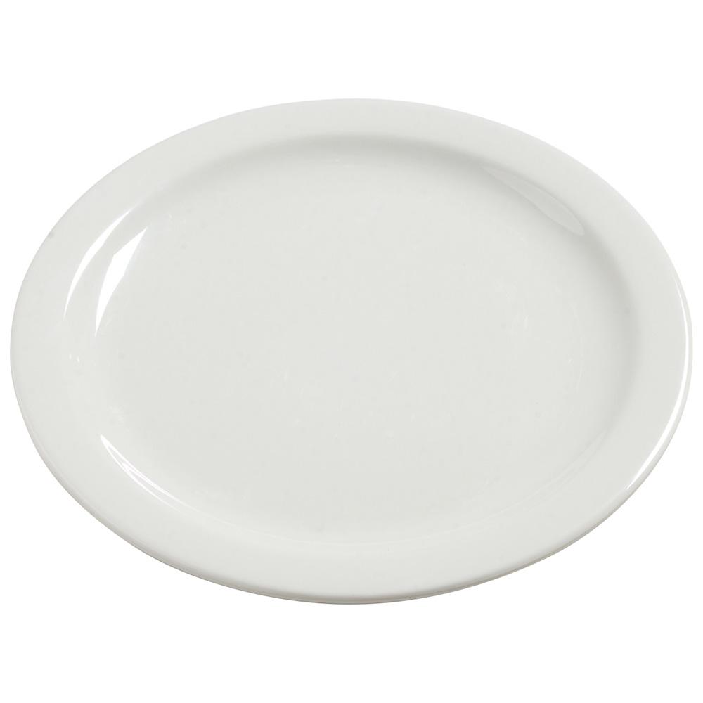 "Carlisle 4385037 10.25"" Round Dinner Plate, Melamine, Bavarian Cream"