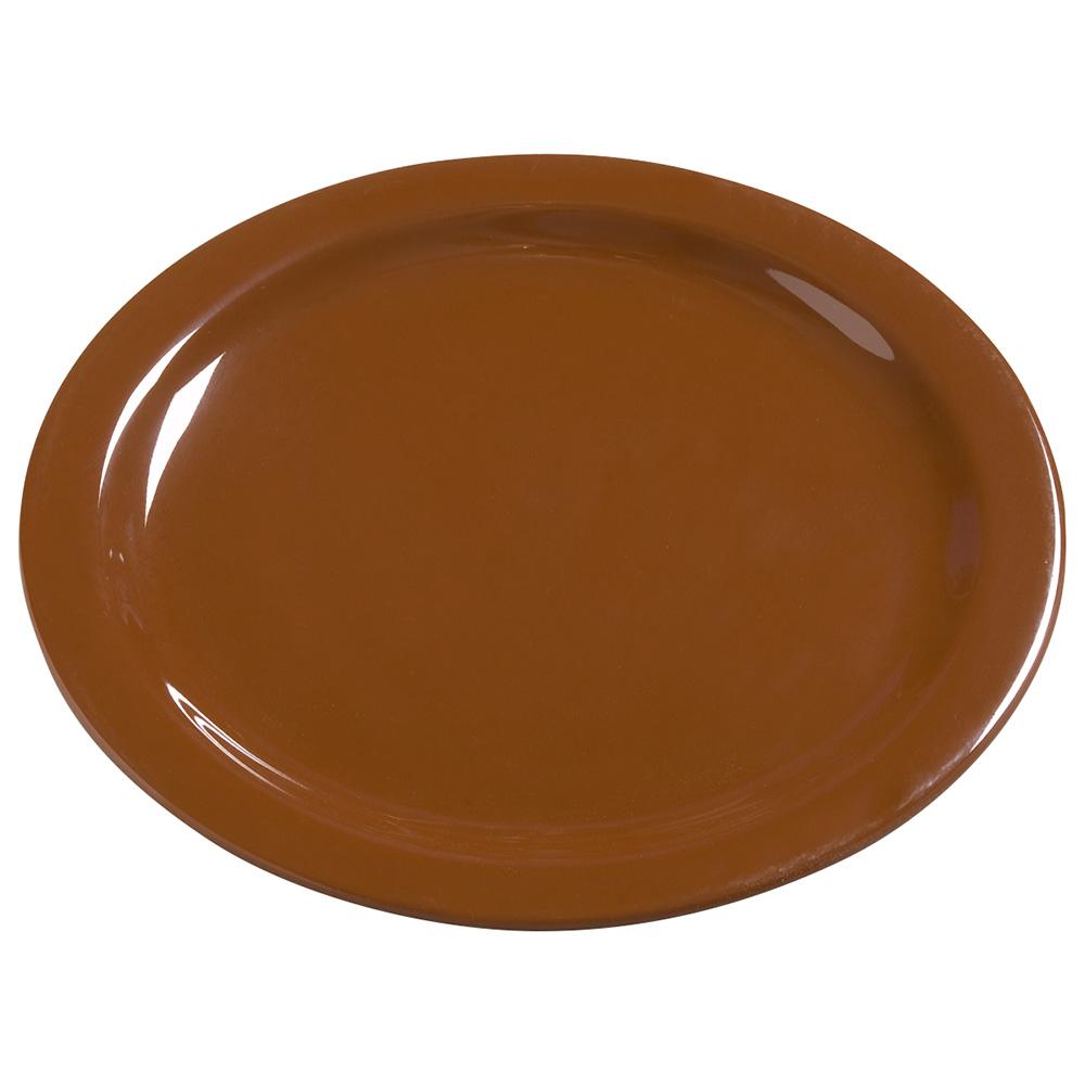 "Carlisle 4385043 10-1/4"" Dayton Dinner Plate - Toffee"