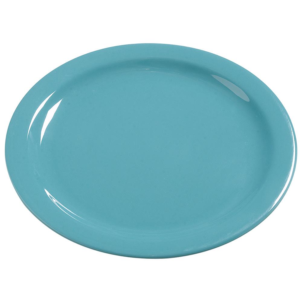 "Carlisle 4385063 10-1/4"" Dayton Dinner Plate - Turquoise"
