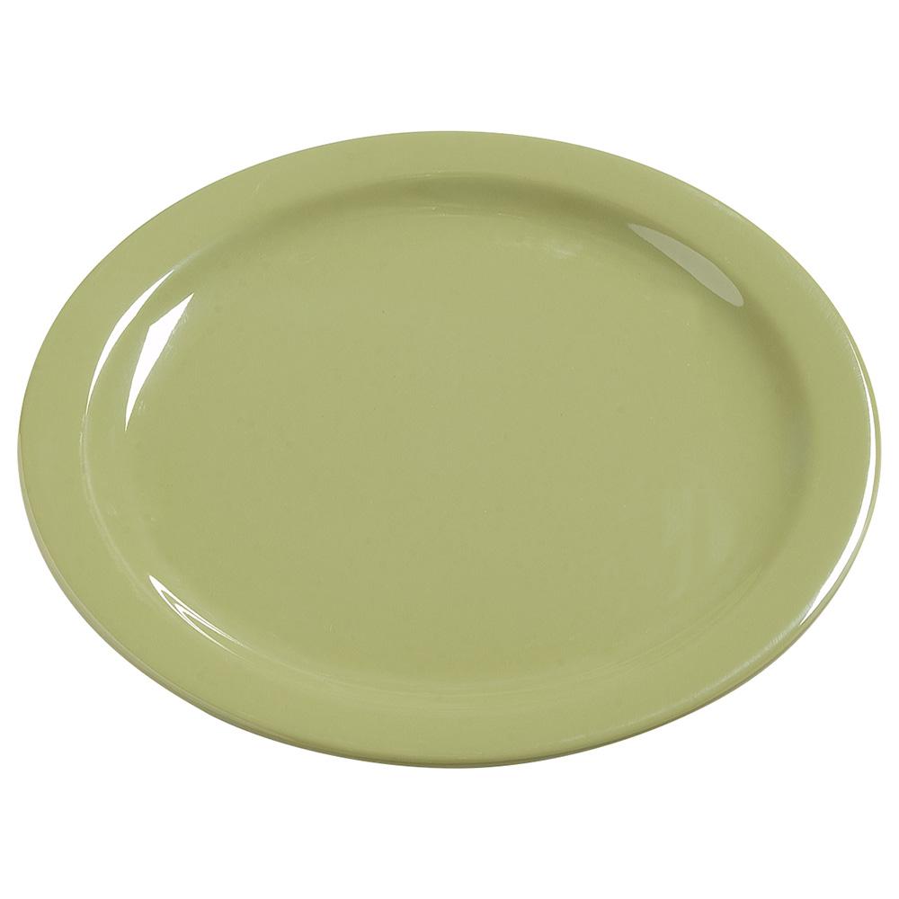 "Carlisle 4385082 10-1/4"" Dayton Dinner Plate - Wasabi"
