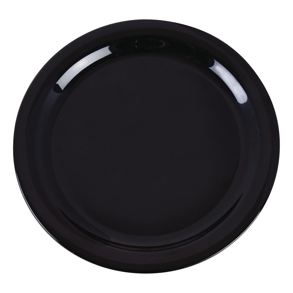 "Carlisle 4385203 9"" Dayton Dinner Plate - Black"