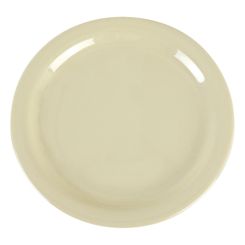 "Carlisle 4385206 9"" Dayton Dinner Plate - Oatmeal"