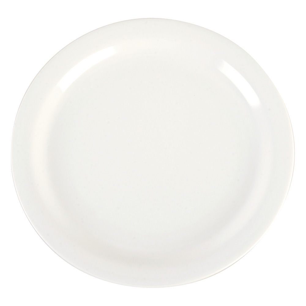 "Carlisle 4385237 9"" Dayton Dinner Plate - Bavarian Cream"