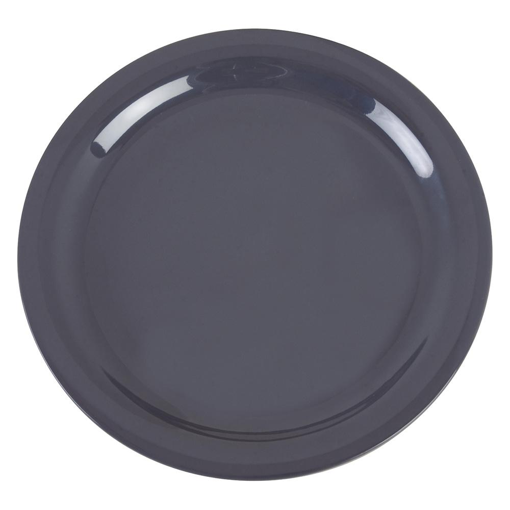 """Carlisle 4385240 9"""" Dayton Dinner Plate - Peppercorn"""