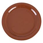 "Carlisle 4385243 9"" Dayton Dinner Plate - Toffee"
