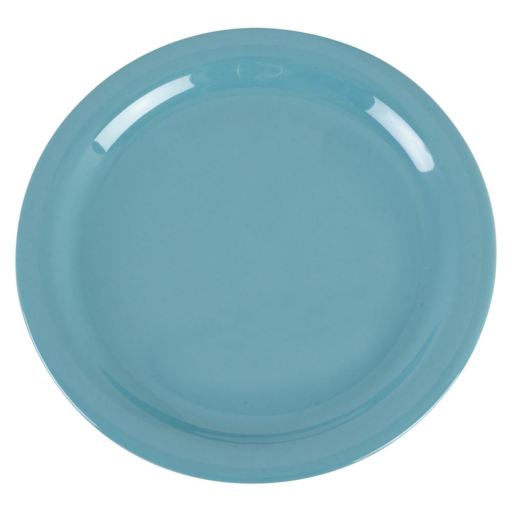 "Carlisle 4385263 9"" Dayton Dinner Plate - Turquoise"