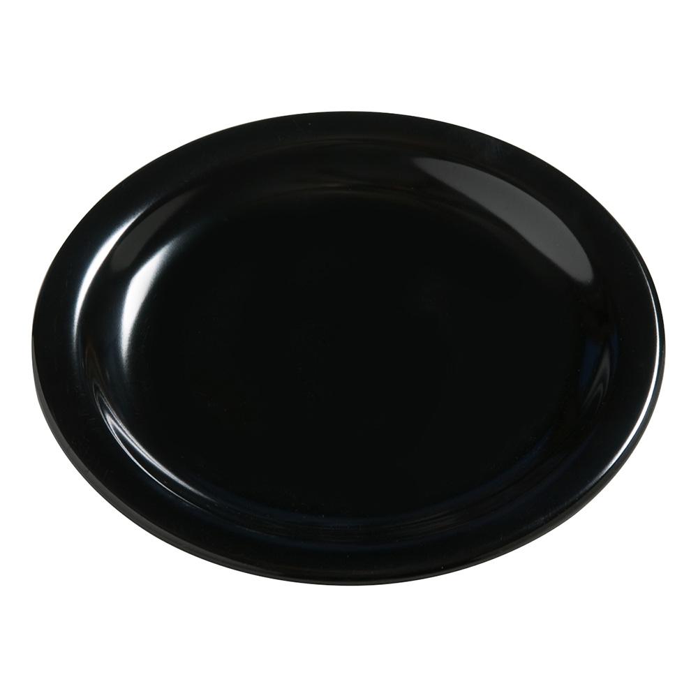 "Carlisle 4385403 7-1/4"" Dayton Dinner Plate - Black"