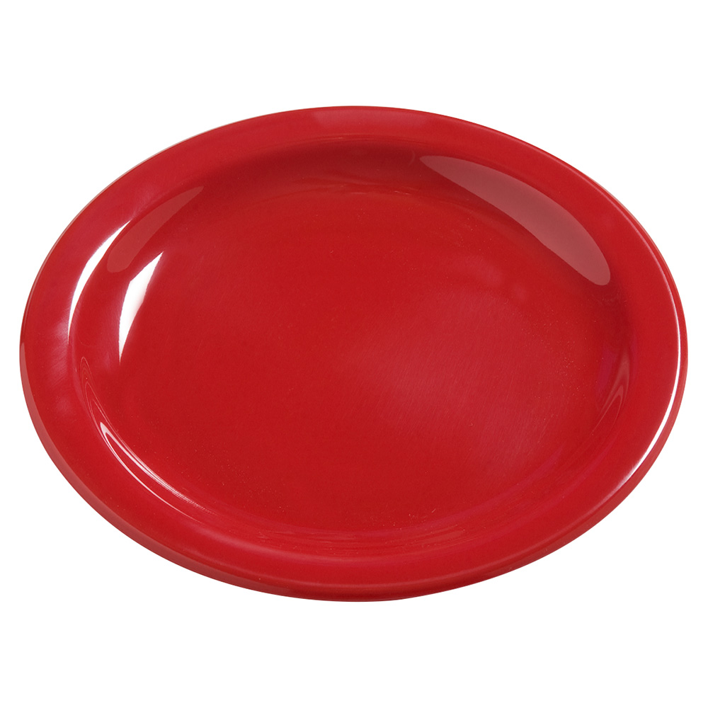 "Carlisle 4385405 7-1/4"" Dayton Dinner Plate - Red"
