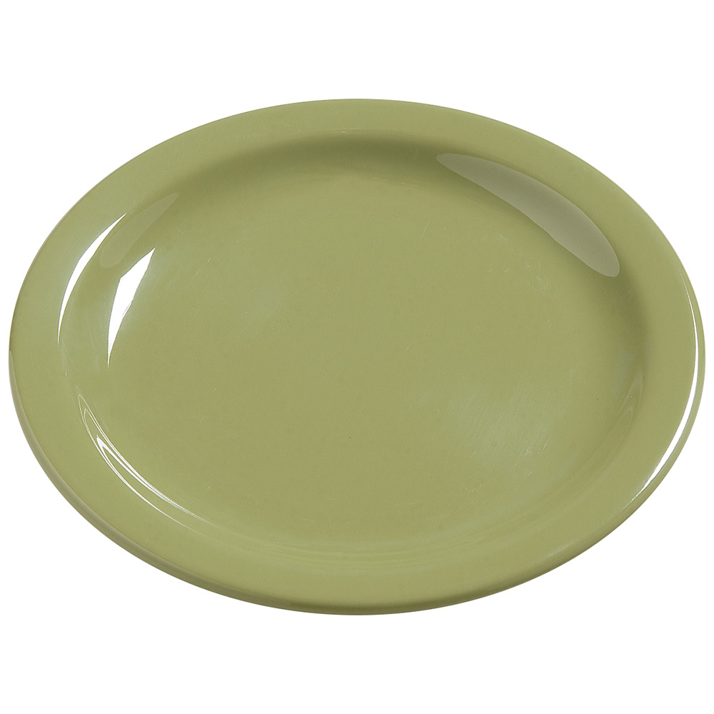 "Carlisle 4385482 7-1/4"" Dayton Dinner Plate - Wasabi"