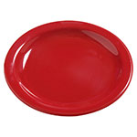 "Carlisle 4385605 5-5/8"" Dayton Bread/Butter Plate - Red"
