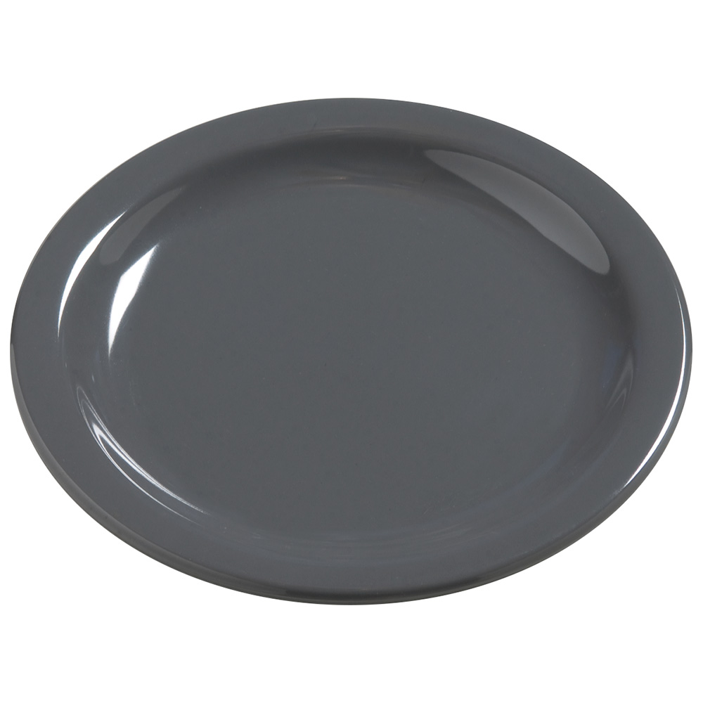 "Carlisle 4385640 5-5/8"" Dayton Bread/Butter Plate - Peppercorn"