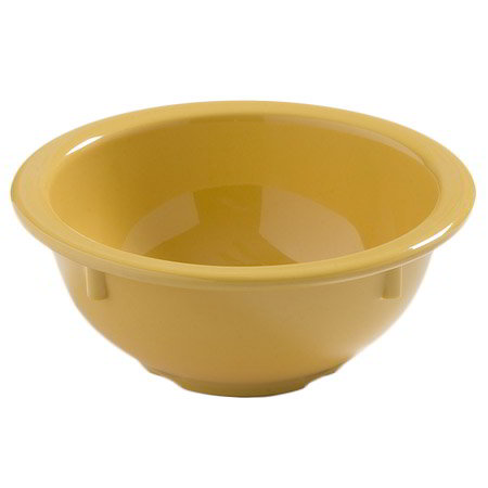 Carlisle 4386022 14-oz Dayton Nappie Bowl - Honey Yellow