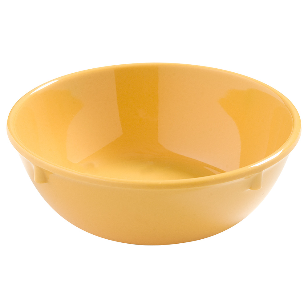 Carlisle 4386222 10-oz Dayton Nappie Bowl - Honey Yellow