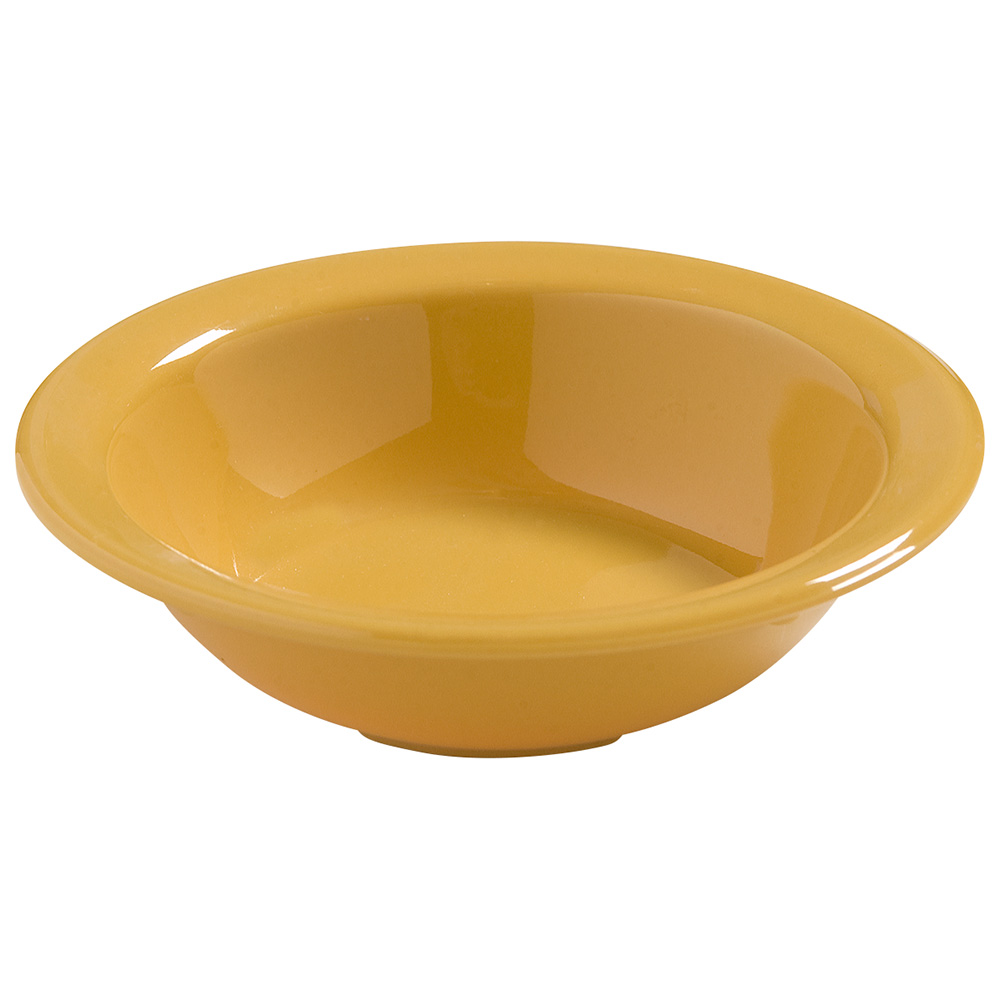 Carlisle 4386622 4-3/4-oz  Dayton Fruit Bowl - Honey Yellow