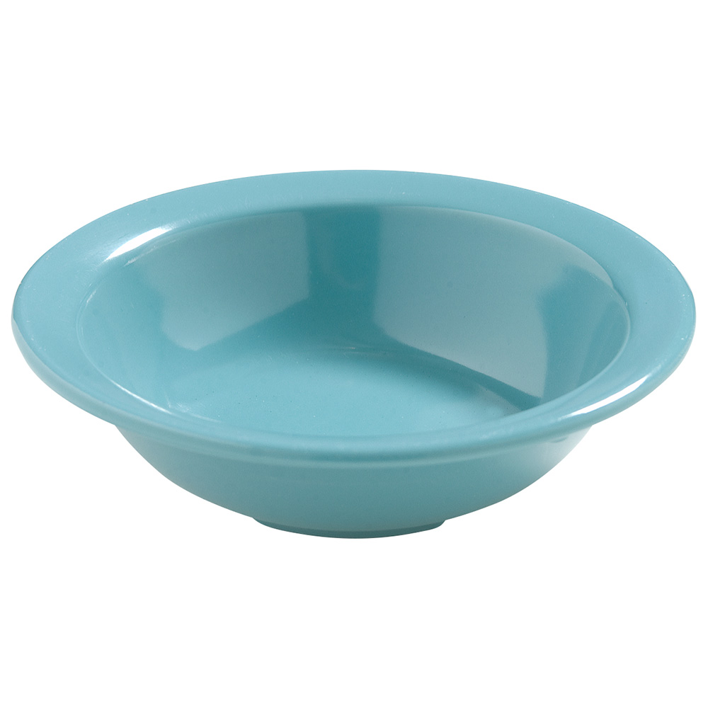 """Carlisle 4386663 4.5"""" Round Fruit Bowl w/ 4.75-oz Capacity, Melamine, Turquoise"""