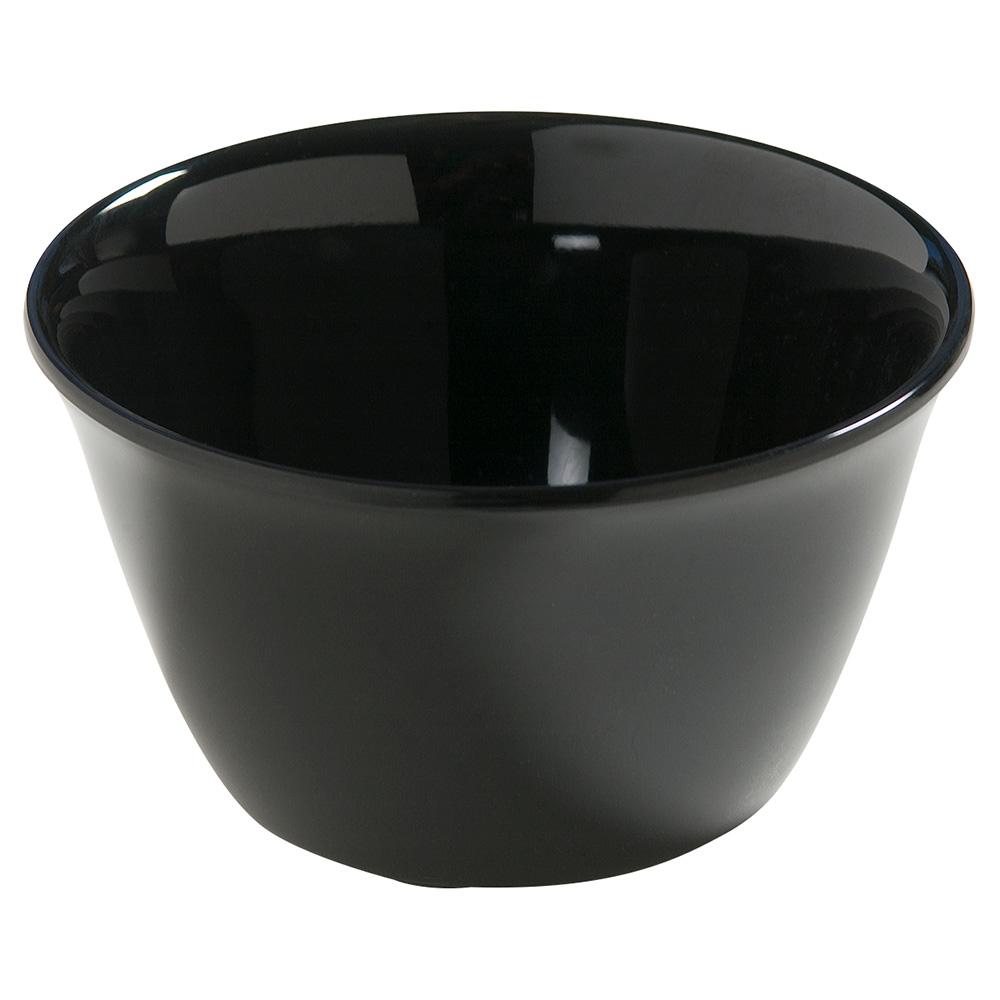 "Carlisle 4386803 3.75"" Round Bouillon Cup w/ 8-oz Capacity, Melamine, Black"