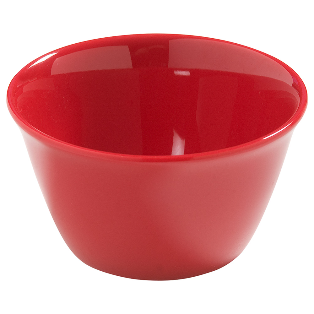 Carlisle 4386805 8-oz Dayton Bouillon Cup - Red