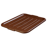 Carlisle 4401201 Bus Box Lid - Snap-On, Polypropylene, Brown