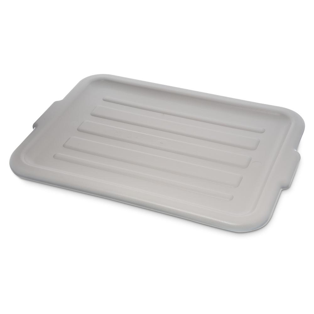 Carlisle 4401223 Bus Box Lid, Universal, Polyethylene, Gray