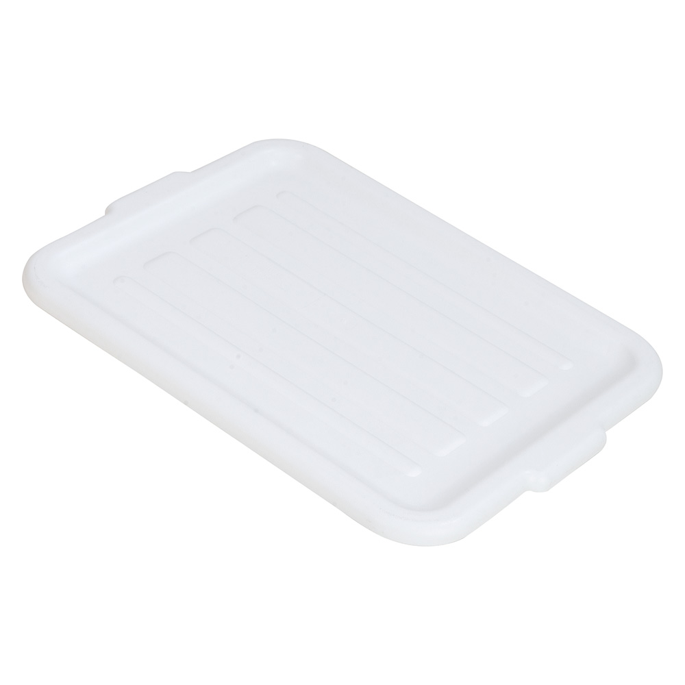 Carlisle 4401202 Bus Box Lid - Snap-On, Polypropylene, White