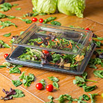"""Carlisle 44400C07 12"""" Plate Cover - Polycarbonate, Clear"""