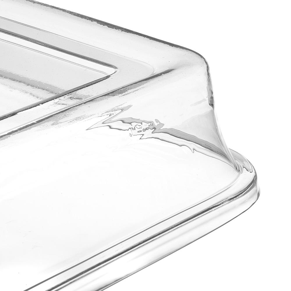 "Carlisle 44402C07 14"" Platter Cover - Polycarbonate, Clear"