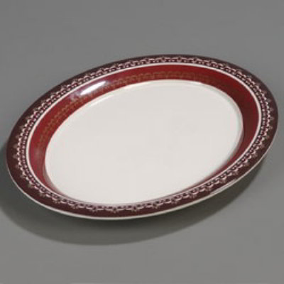 Carlisle 44411916 Palette Designer Displayware Platter 17 in x 1 Restaurant Supply