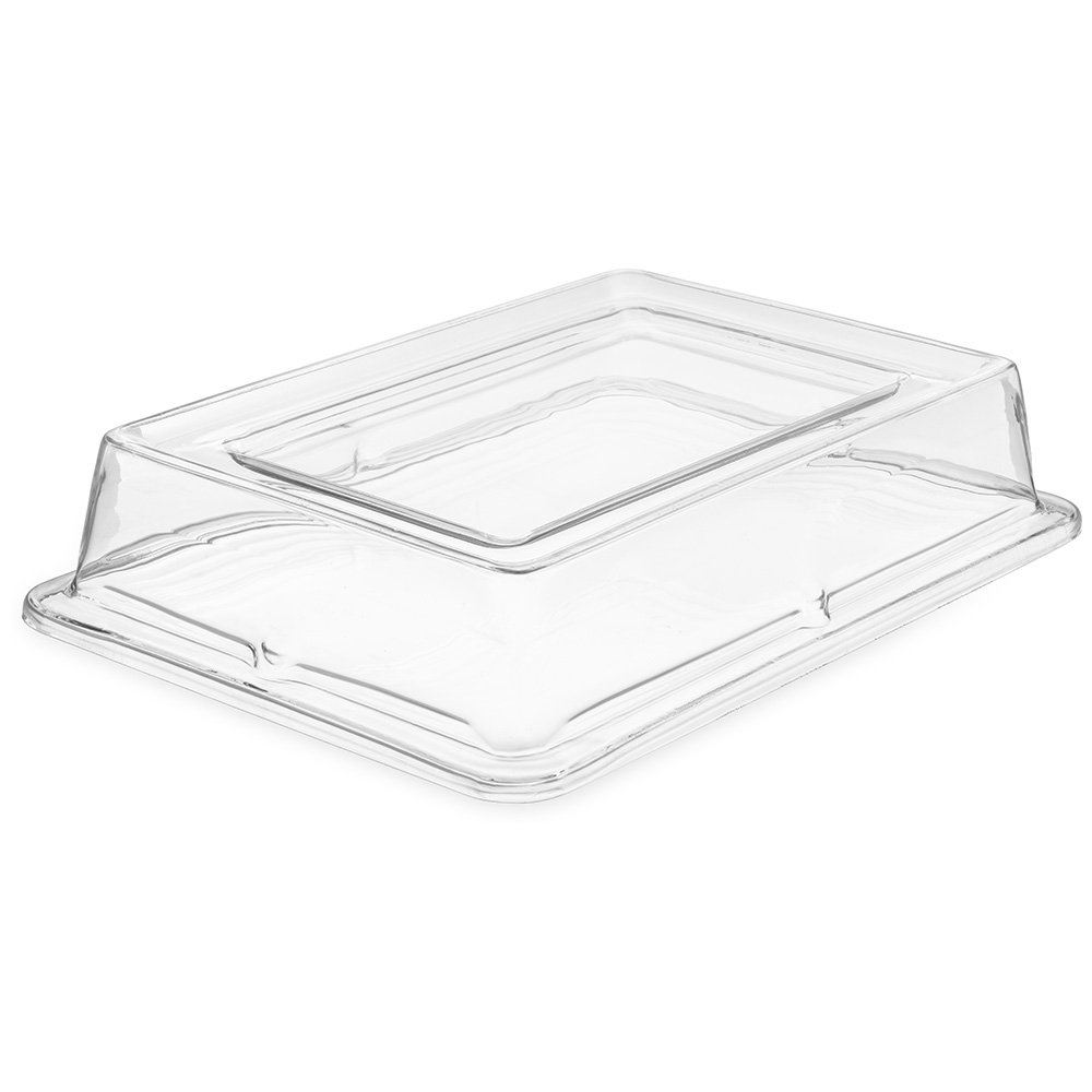 Carlisle 44422C07 Full-Size Palette Designer Food Pan Cover - Clear