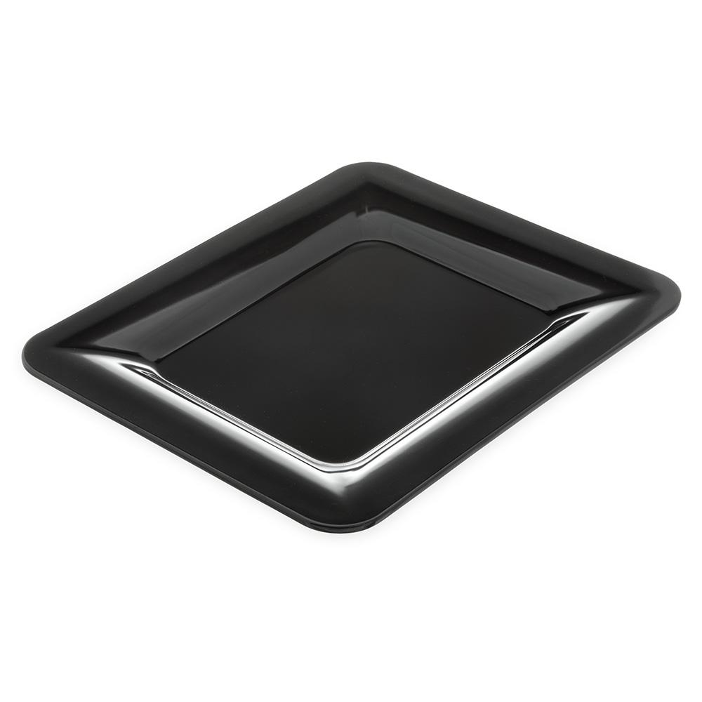 "Carlisle 4443003 Half Size Food Pan - 1""D, Melamine, Black"