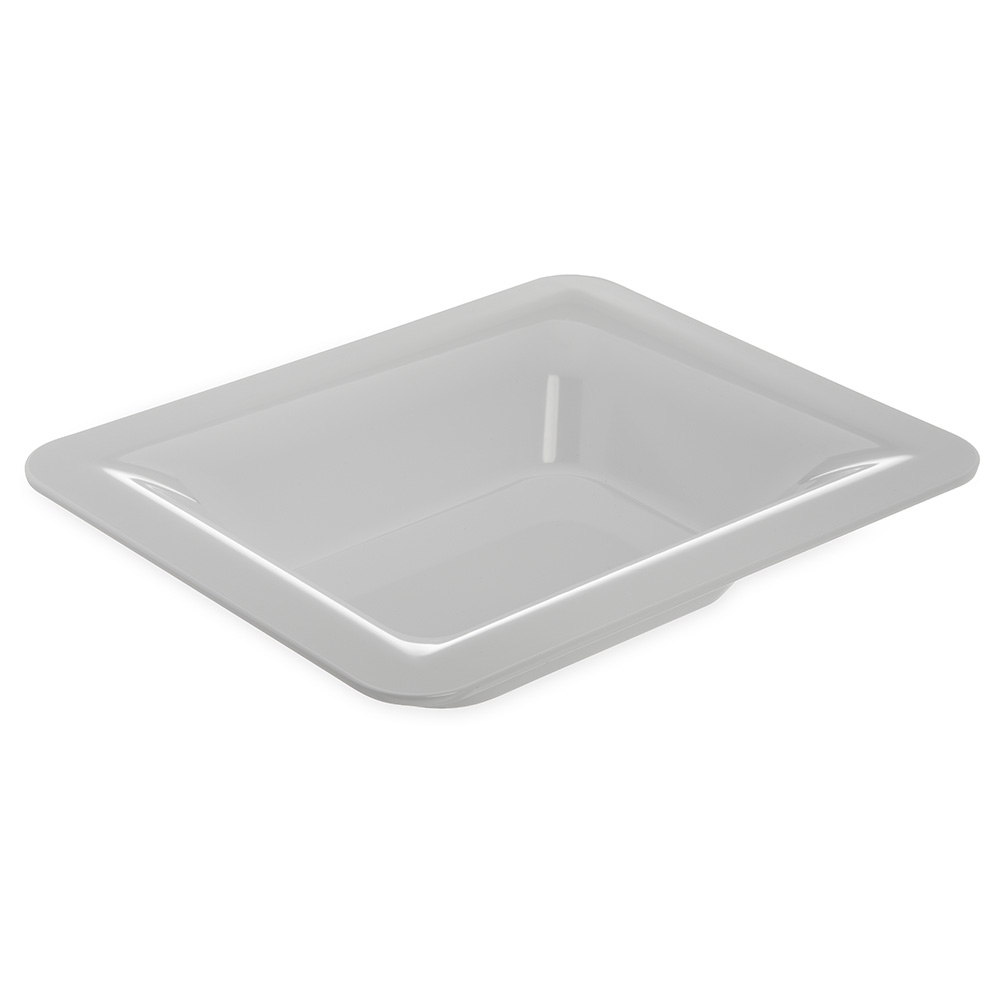 """Carlisle 4443202 Half Size Food Pan - 2-1/2""""D, Melamine, White"""
