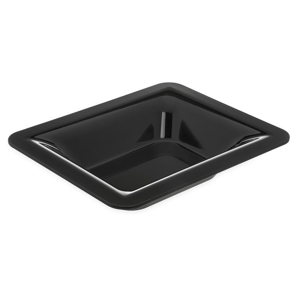 "Carlisle 4443203 Half Size Food Pan - 2-1/2""D, Melamine, Black"