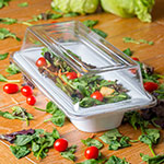 Carlisle 44462C07 Third Size Food Pan Cover - Polycarbonate, Clear
