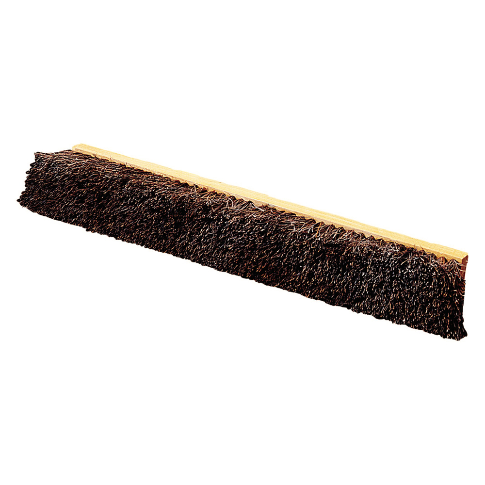 "Carlisle 4522200 24"" Floor Sweep Head - Coarse/Heavy, Hardwood Block, 4"" Trim, Palmyra Bristles"