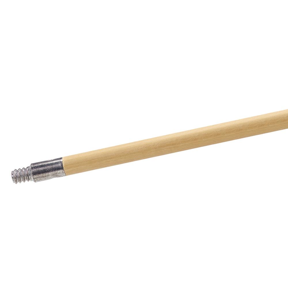 "Carlisle 4526700 60"" Threaded Handle, Wood"