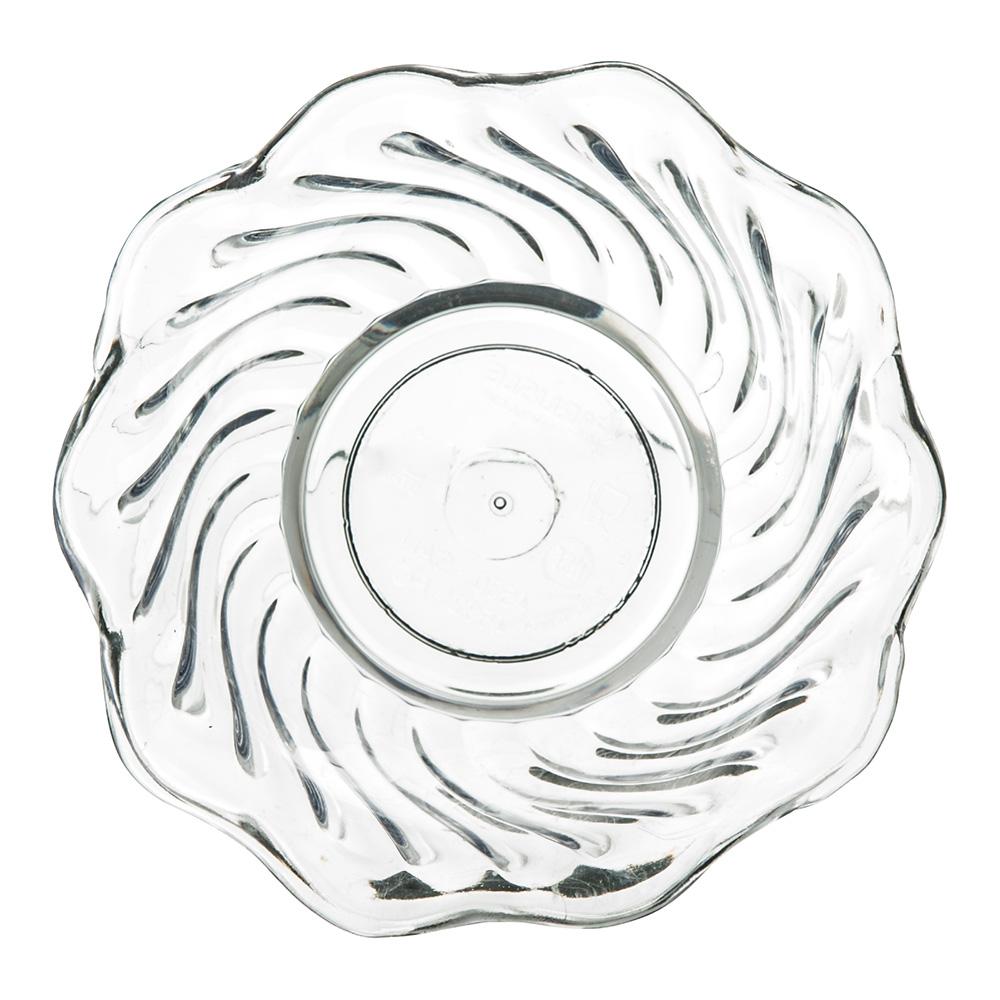 "Carlisle 453007 3.75"" Round Tulip Dessert Dish w/ 5-oz Capacity, Plastic, Clear"