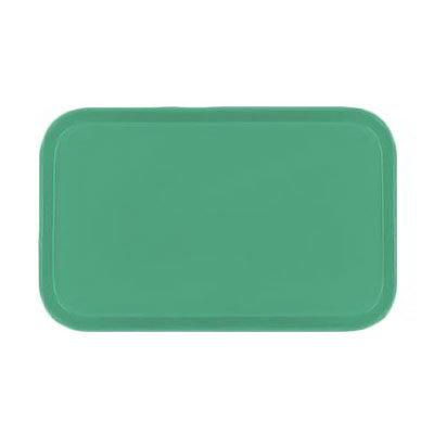 Carlisle 4532FG007 Rectangular Cafeteria Tray - 450x320mm, Tropical Green