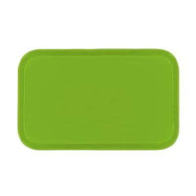 Carlisle 4532FG009 Rectangular Cafeteria Tray - 450x320mm, Lime