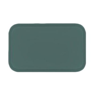 Carlisle 4532FG010 Rectangular Cafeteria Tray - 450x320mm, Forest Green