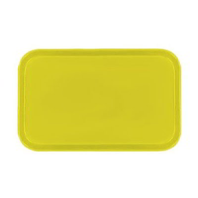 Carlisle 4532FG021 Rectangular Cafeteria Tray - 450x320mm, Pineapple
