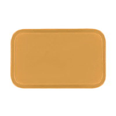 Carlisle 4532FG023 Rectangular Cafeteria Tray - 450x320mm, Gold