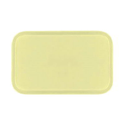 Carlisle 4532FG024 Rectangular Cafeteria Tray - 450x320mm, Lemon