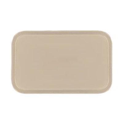 Carlisle 4532FG025 Rectangular Cafeteria Tray - 450x320mm, Beige