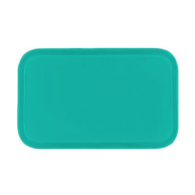 Carlisle 4532FG051 Rectangular Cafeteria Tray - 450x320mm, Teal