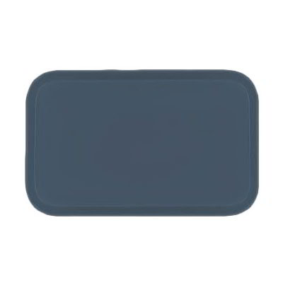 Carlisle 4532FG067 Rectangular Cafeteria Tray - 450x320mm, Slate Blue