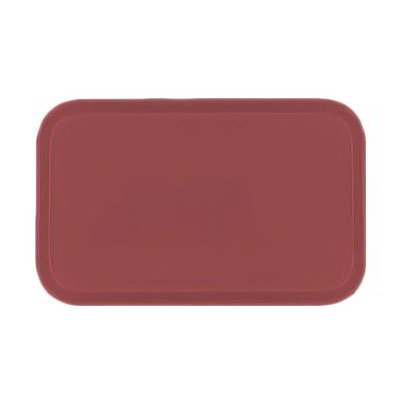 Carlisle 4532FG069 Rectangular Cafeteria Tray - 450x320mm, Raspberry