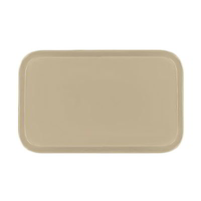 Carlisle 4532FG095 Rectangular Cafeteria Tray - 450x320mm, Almond
