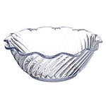 Carlisle 453307 Tulip Bowl, 13 oz., Clear, SAN